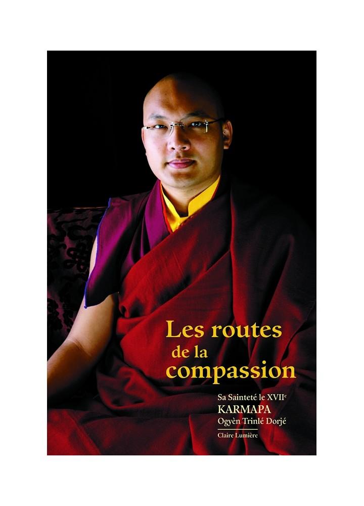Livre des éditions Claire Lumière. Bouddhisme tibétain. Compassion, enseignement du Karmapa, grand maître bouddhiste